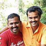 Vijay and me in Yercaud